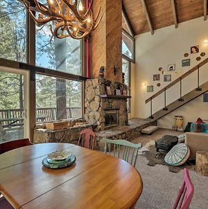 Flagstaff Cabin With Large Deck & Fenced Yard! photos Exterior