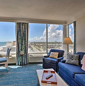 Ocean View Daytona Beach Studio With Pool Access photos Exterior