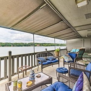 Lakefront Hot Springs Condo With Dock And Balcony photos Exterior