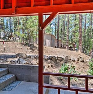 Secluded Ruidoso Cabin With Grill And Fireplace! photos Exterior