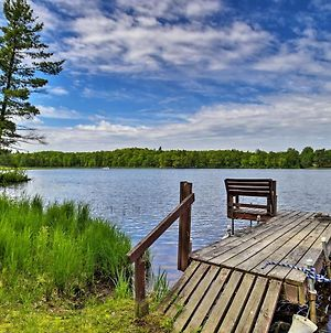 Burns Lake Cabin With Dock, Fire Pit, Rowboat And More! photos Exterior