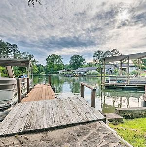 Rustic Cabin With Hot Tub & Dock On Lake Hamilton! photos Exterior