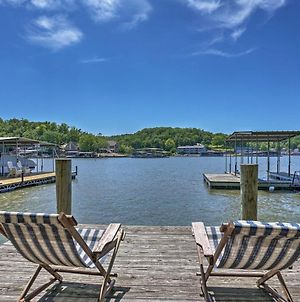 Lake Of The Ozarks Home With Game Room, Bbq And Dock! photos Exterior