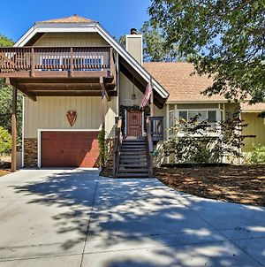 Lake Arrowhead Home With Fireplace & Game Room! photos Exterior