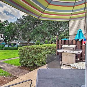 St Simons Island Townhome With Stone Patio And Pool! photos Exterior