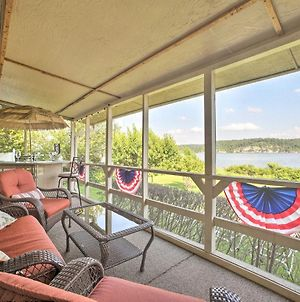 Waterfront Rogers Abode With Private Deck & Hot Tub! photos Exterior