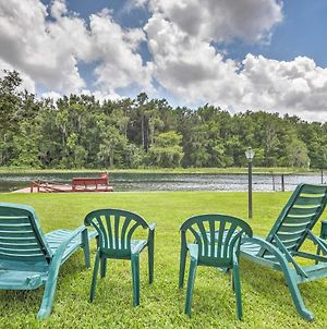 Riverfront Dunnellon Home With Dock And Solarium! photos Exterior