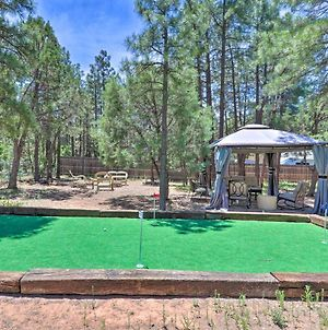 Show Low Home With Hot Tub, Putting Green, & Gazebo! photos Exterior