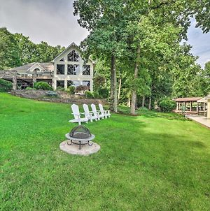 Lake Anna Home With Pvt Dock And Outdoor Kitchen! photos Exterior