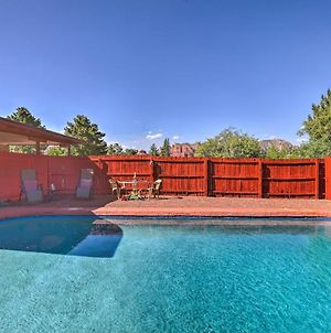 Sedona Home On 1 Acre W/ Pool+Red Rock Views! photos Exterior