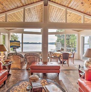 Jordan Home With Boat House And Dock On Cedar Lake photos Exterior
