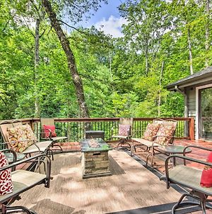 Lake Toxaway Cabin With Fire Pit - 1Mi To Marina photos Exterior