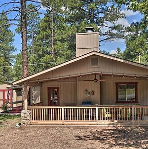 Coconino National Forest Home With Deck And Yard! photos Exterior