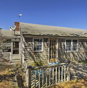Private Cape Cod Cottage With Patio -5Min Walk To Bay photos Exterior