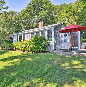 Lakefront Mashpee Home With Kayak And Outdoor Kitchen! photos Exterior