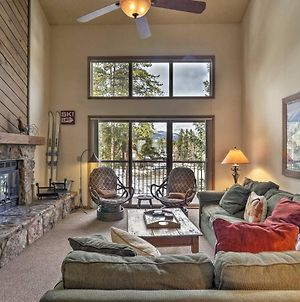 Townhome With Mtn Charm And Shuttle, Walk To Ski Lift! photos Exterior