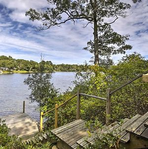 Secluded Waterfront Retreat With Pvt Dock And Hot Tub! photos Exterior