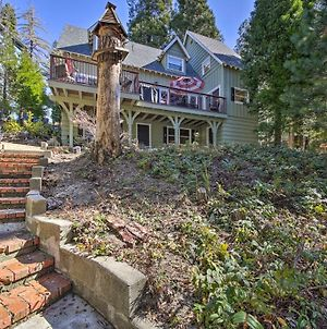 Waterfront Lake Arrowhead Home With Balcony And Deck photos Exterior