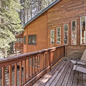 S Lake Tahoe Cabin With Private Sauna And Game Room! photos Exterior