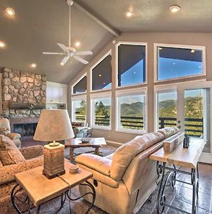 Scenic Abode With Stunning Mtn Views And Wraparound Deck! photos Exterior