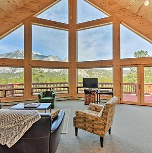 Secluded Nathrop Chalet With Mtn Views & 17 Acres! photos Exterior
