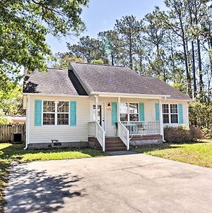 Oak Island Cottage - Walk To Beach And Intracoastal! photos Exterior