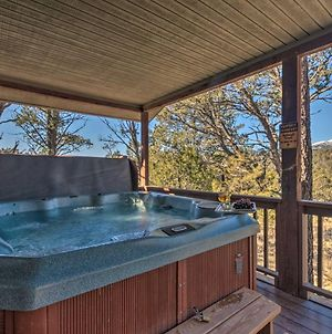 Ruidoso Cabin With Hot Tub And Fantastic Mountain Views photos Exterior