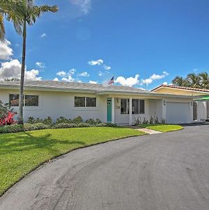 Upscale 3Br Wilton Manors House With Heated Pool! photos Exterior