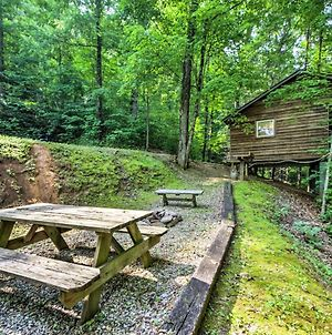 Smoky Mtn Studio Cabin With Picnic Area Pets Allowed photos Exterior