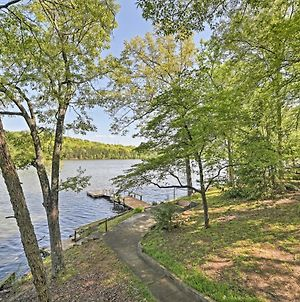 Serene Lakefront Harrison Cottage With Dock And Views! photos Exterior