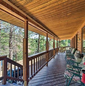 Ruidoso Cabin With Hot Tub-3 Mi To Links Golf Course photos Exterior