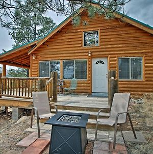 Alpine Cabin On 3 Acres With Mtn View - Steps To Lake photos Exterior