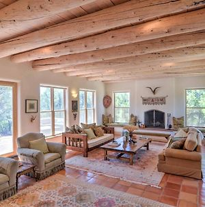 Custom Taos Home On 11 Acres W/ Outdoor Fire Pit! photos Exterior