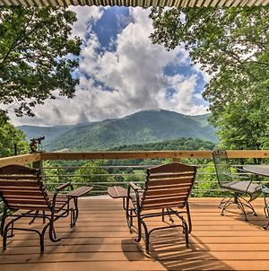 Maggie Valley Home With Blue Ridge Mtn View & Hot Tub photos Exterior