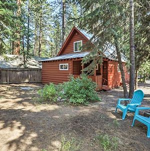 Walk To Kings Beach From Lake Tahoe Cabin With Deck! photos Exterior