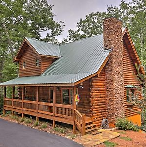 Log Cabin With Deck In Chattahoochee Natl Forest! photos Exterior