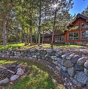 Expansive Log Cabin W/ Sauna On Whitefish Chain! photos Exterior