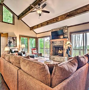 Treetop Retreat With Game Room 3Mi To Beech Mtn! photos Exterior