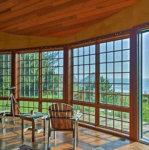 Forested Gold Beach House With Panoramic Ocean Views! photos Exterior