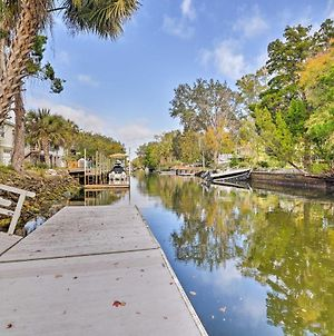 Canal Front Home With Dock & Access To Crystal River photos Exterior