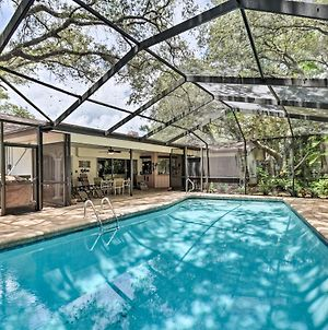 Prime Indian Rocks House With Covered Lanai & Pool! photos Exterior