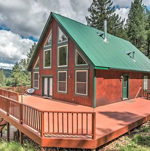 Rustic Cloudcroft Cabin On 10 Acres With Grill And Deck photos Exterior