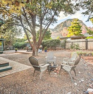 Quiet Sedona House With Covered Patio And Rock Views! photos Exterior