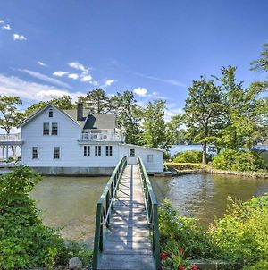 Lakefront Hopatcong House With Large Porch & Dock! photos Exterior