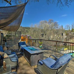 Cozy Clearlake Oaks Home With Game Room, Dock And Deck! photos Exterior