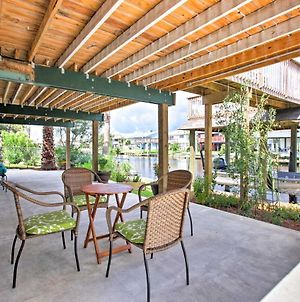 Canalfront Bayou Vista Home With Pool Access And Deck! photos Exterior