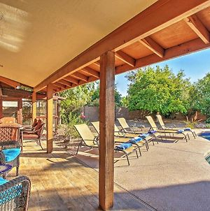 Scottsdale Home With Fireplace & Private Heated Pool! photos Exterior