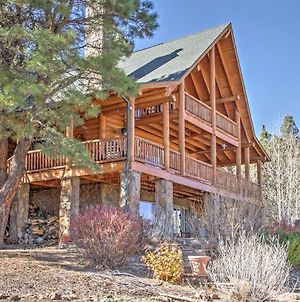 Rustic Cabin With Decks, Alpine Views & Pool Table! photos Exterior