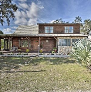 Sebring Ranchero Log Cabin On 40-Acre Farm! photos Exterior