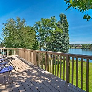 Lake House With Dock And Hot Tub 1Mi To Surf N Slide photos Exterior